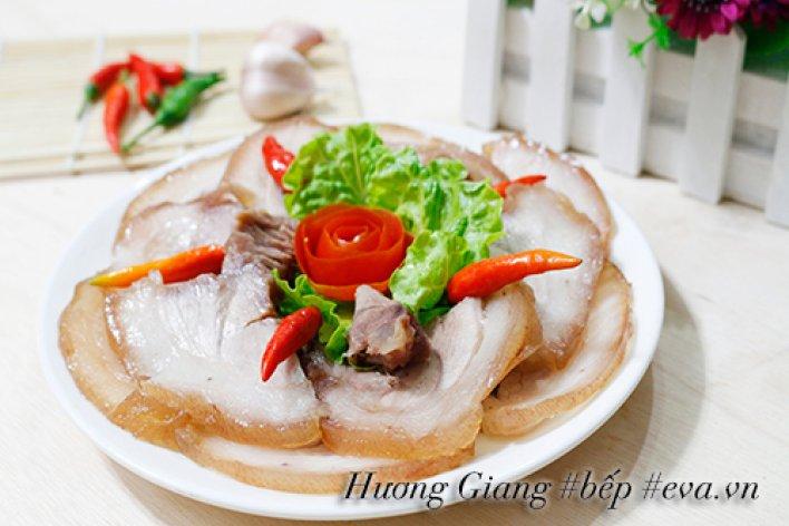 MÓN ĂN NGÀY TẾT: Thịt Chân Giò Ngâm Mắm Ăn Chơi Ngày Tết