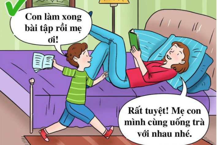 3 Lý Do Mẹ Không Nên Làm Bài Tập Cùng Con Đầu Năm Học Mới