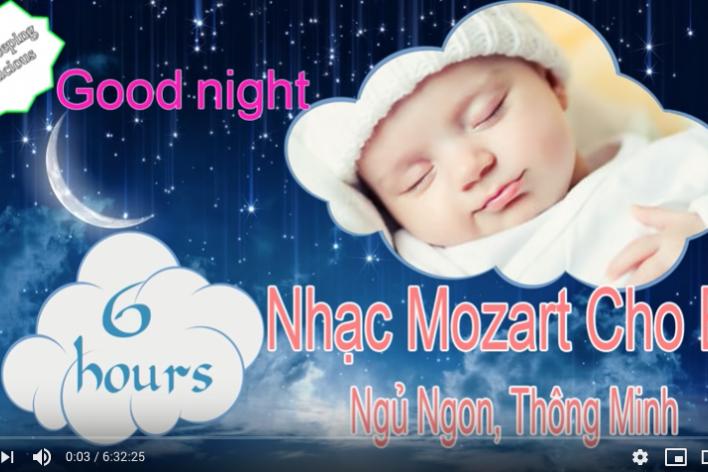 Nhạc Mozart Cho Bé Thông Minh