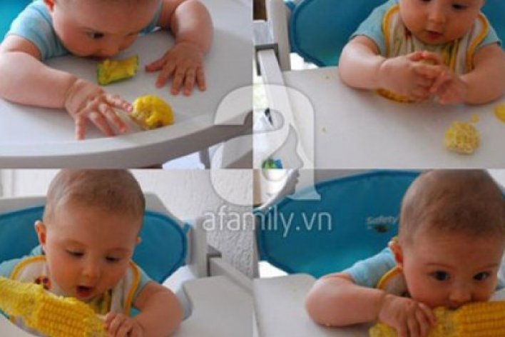 Dạy Con Biết Nhai và Tự Xúc Ăn Siêu Như Mẹ Việt ở Pháp