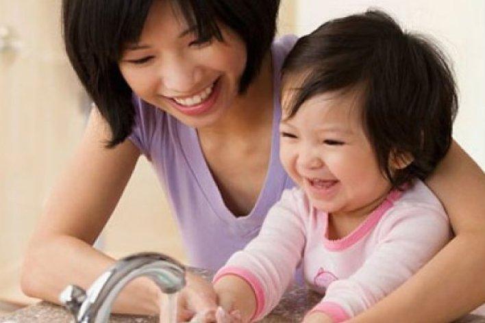 Mách Mẹ Cách Phòng Cúm Cho Bé