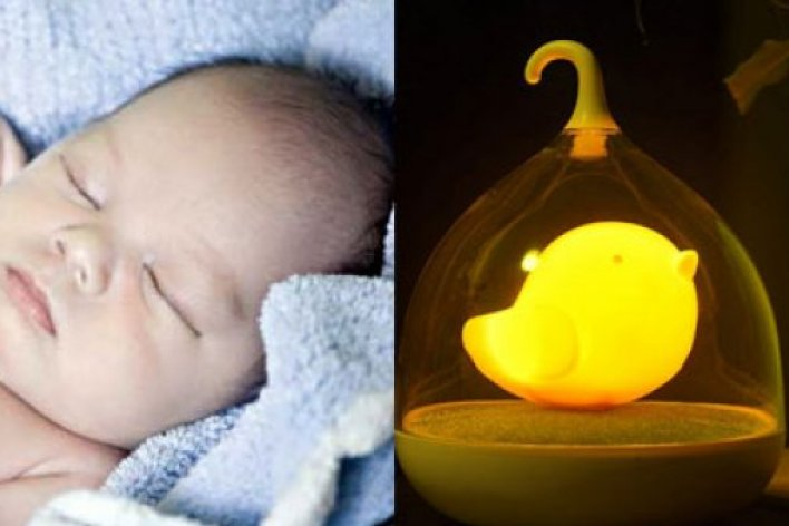 5 Tác Hại Giật Mình Khi Để Trẻ Ngủ Dưới Ánh Đèn