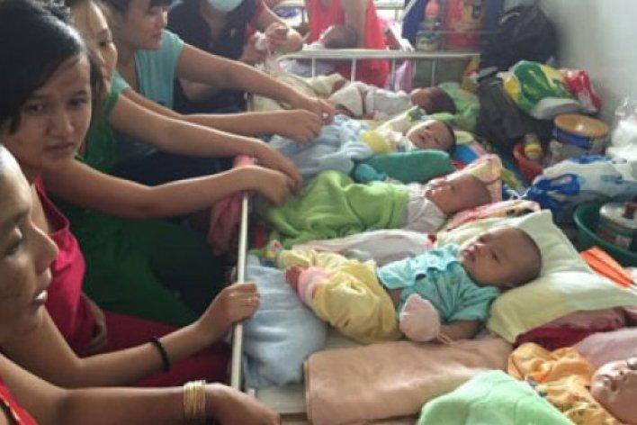 Bệnh Hô Hấp Vào Mùa 13 Trẻ Chung 1 Giường