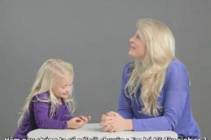 Học Mẹ Tây Cách Giáo Dục Giới Tính Cho Con Từ Lúc 0 Tuổi