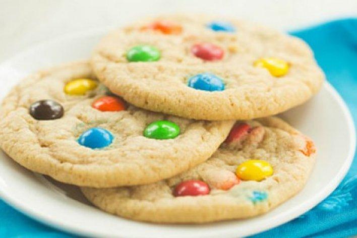 Làm Bánh Cookie Kẹo M&M CHo Bé Đón Giáng Sinh Nào Các Mẹ Ơi