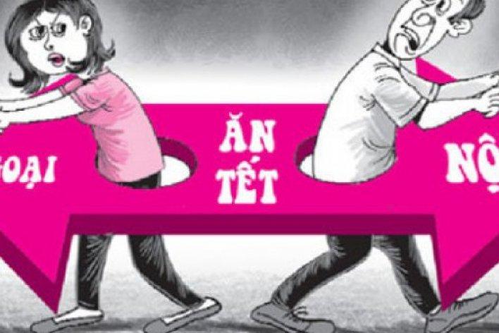Phải Làm Sao Khi Vợ Nhất Định Đòi Về Nhà Mẹ Ăn Tết
