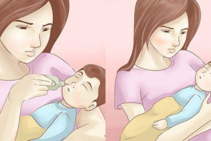 Hướng Dẫn Mẹ Cách Vệ Sinh Mũi Đúng Cách Cho Bé Khi Bé Sổ Mũi