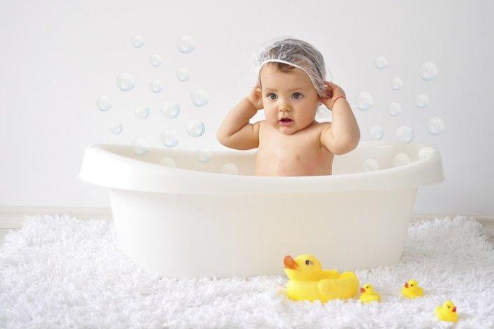 Tắm Trẻ Sơ Sinh Hàng Ngày Có Tốt Không ?