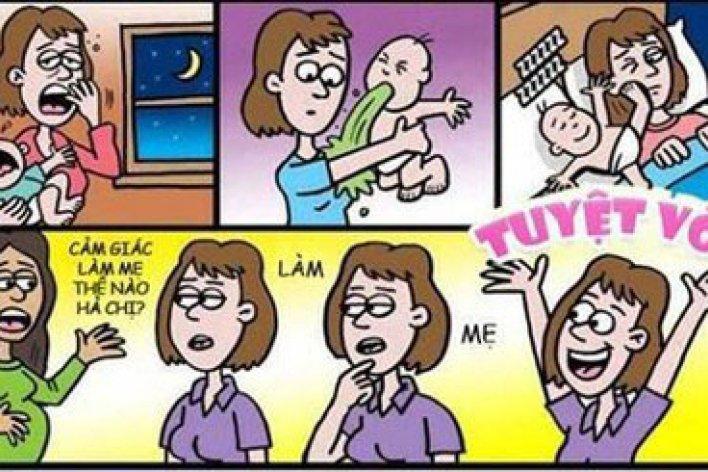 Bộ Tranh Khiến Mẹ Nào Cũng Giật Mình Vì Thấy Chính Mình Trong Đó
