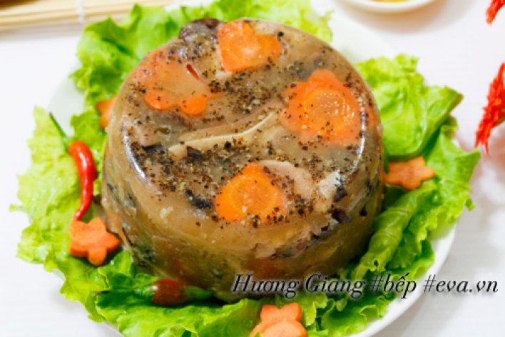 MÓN ĂN NGÀY TẾT:  Thịt Đông Mềm Ngon Thanh Mát Ai Nỡ Chối Từ