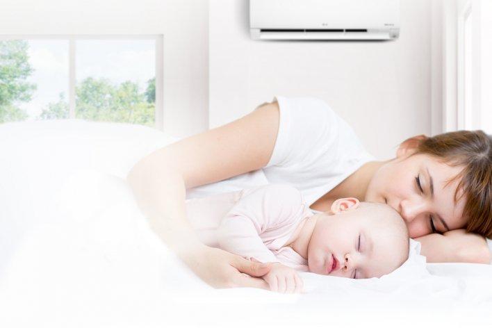 Hướng Dẫn Mẹ Cách Cho Con Ngủ Điều Hoà An Toàn Trong Mùa Nóng