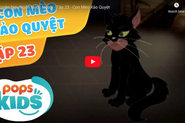 Truyện Ngụ Ngôn Hay  - Con Mèo Xảo Quyệt