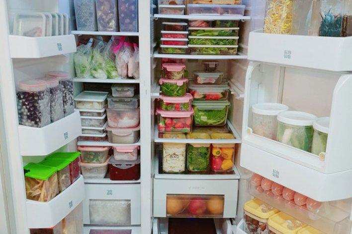 Mẹ Việt Mách Cách Trữ Đồ Ăn Trong Tủ Lạnh Siêu Tiện Lợi